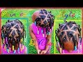 Download Video Download Triangle Single Braids | Children's Natural Hair Care 3GP MP4 FLV