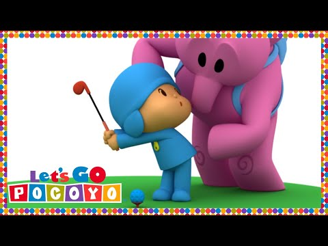 Let s Go Pocoyo A Hole in One Episode 24 in HD