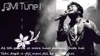 Wafa Ne Bewafai Tera Suroor   Arijit Singh Lyrical Full Video Song   T Series