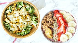 CHEAP HEALTHY RECIPES UNDER $3! EASY AND YUMMY HEALTHY FOOD!