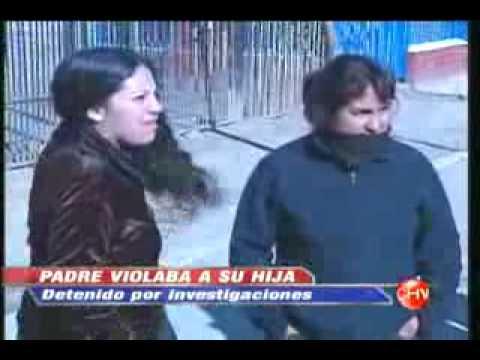Chileno torturaba y violaba a su hija