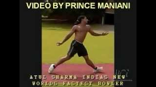 CRICKET WORLD T20 SPECIAL VIDEO | WORLDS FASTEST BOWLER UNBELIEVABLE SPEED