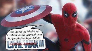 Ve Spiderman!!! Kaptan Amerika İç Savaş Fragman İncelemesi
