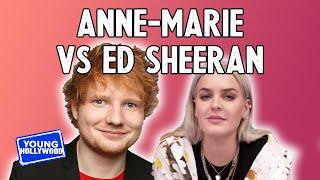 Why Did Singer Anne-Marie Punch Ed Sheeran?!