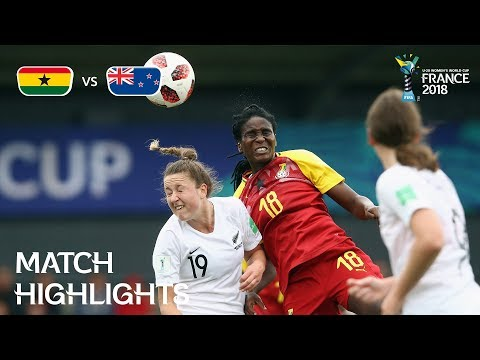 Xxx Mp4 Ghana V New Zealand FIFA U 20 Women's World Cup France 2018 Match 18 3gp Sex