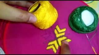 Hand Embroidery - Phulkari Embroidery Stitch