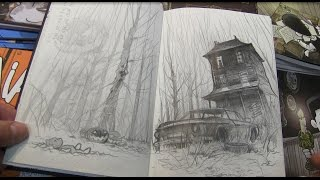 Horror Sketchbook By Santiperez!!
