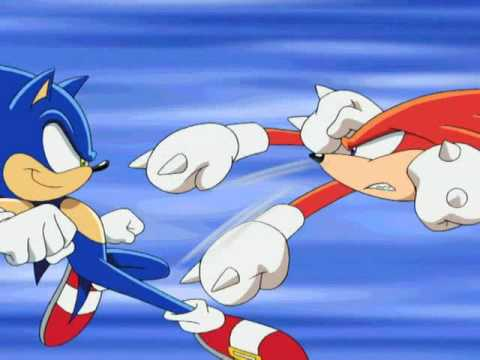 Sonic vs Knuckles RAW