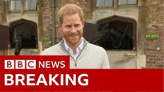 Prince Harry announces birth of baby boy - BBC News