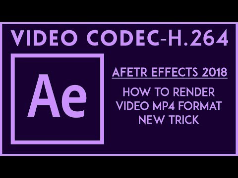 Xxx Mp4 How To Render Video MP4 Format In After Effects Video Codec H 264 2018 3gp Sex
