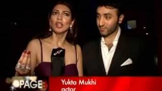 Yukta Mukhi  happily married