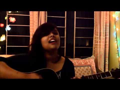 NEW NICE SONG GIRL WITH GUITAR 2015 ANCHOL BANGLA
