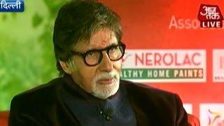 Amitabh Bachchan on Agenda Aaj Tak (Part 2)