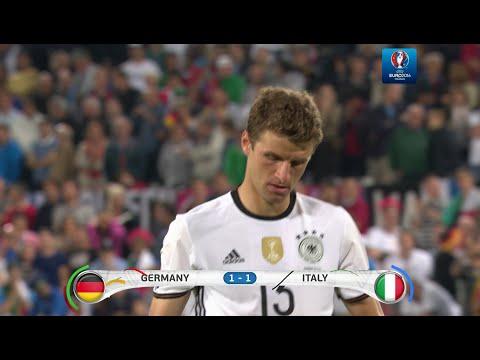Deutschland vs Italien Elfmeterschießen 02.07.2016  4K UHD 2160p50