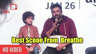 R Madhavan About The Best Scene From The Short Film Breathe | Must Watch
