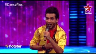 Dance Plus: Popping Ticko shows his amazing mimicry skills!