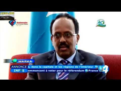 Djibouti Warkii Maanta 28 3 2019
