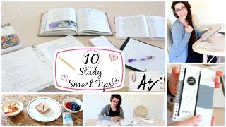 Ladylike Charm: Your Study Smart Study Routine - 10 Study Smart Tips