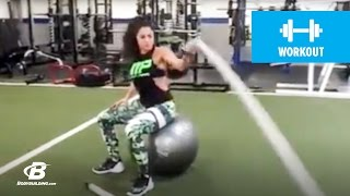 How To Do A Single-Arm Battle Rope Burn-Out | Exercise Guide