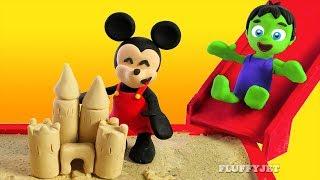 Playground for Kids Sandbox Pretend Play Family Fun Kids Activities Playtime Play Doh Animation