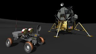 Kerbal Space Program - Apollo-J Moon Mission in RSS