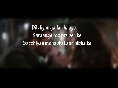 Xxx Mp4 LYRiCS Dil Diyan Gallan Lyrical Full Song Tiger Zinda Hai Salman Khan Katrina Kaif HD 3gp Sex
