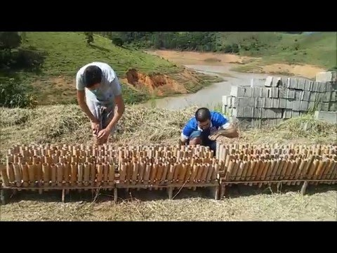 Queima de Fogos 2016 Natividade da Serra SP HD