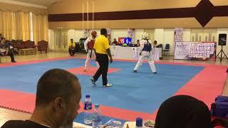 Taekwondo SUKIPT 2018- Muhd Alif VS Najmi Haziq