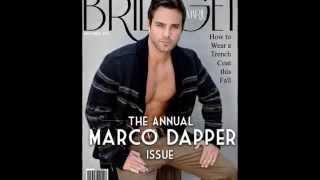 Marco Dapper Behind the Scenes Bridget Marie Magazine Nov.14