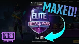 ROYAL PASS SEASON 6 MAXED!! FIRST LOOK + Giveaway! PUBG Mobile