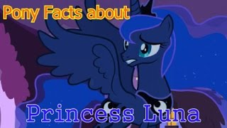 Pony Facts about Princess Luna