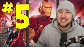 IRON MAN CIVIL WAR QUEST HEROIC part 5 | MARVEL: Contest of Champions (iOS/Android)
