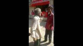 funny fight in india