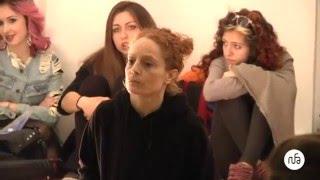 RUFA, la performance di Alessandra Cristiani sui Linguaggi del corpo