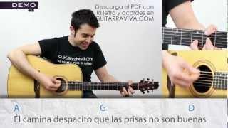 Como tocar Fito Soldadito Marinero acordes tutorial en guitarra de Fito Fitipaldis como tocar