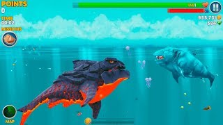 Hungry Shark Evolution Ice Shark Android Gameplay #39