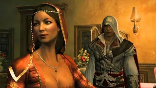 Ezio and Paola: Full Story of Pretty Florentine Courtesan (Assassin's Creed 2)