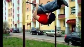 my workout, shocking power, risky acrobatics, extreme sport