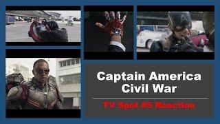 Captain America: Civil War TV Spot #5 Reaction