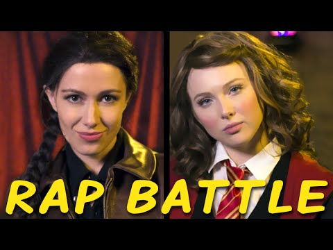 KATNISS vs HERMIONE Princess Rap Battle Molly C. Quinn & Whitney Avalon