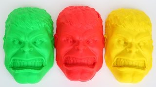DIY How To Make Hulk Play Doh SuperHeroes Cars 3 Lightning McQueen Play Doh Learn Colors Mighty Toys