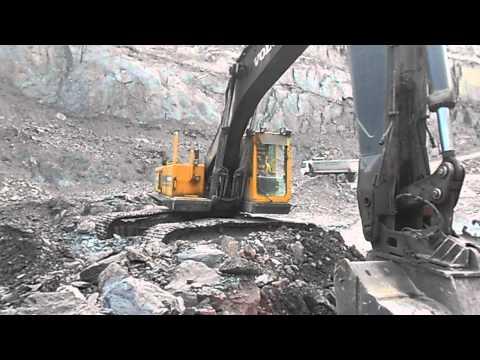 Volvo Excavator EC 450 Crawler at Kozuf Kavadarci
