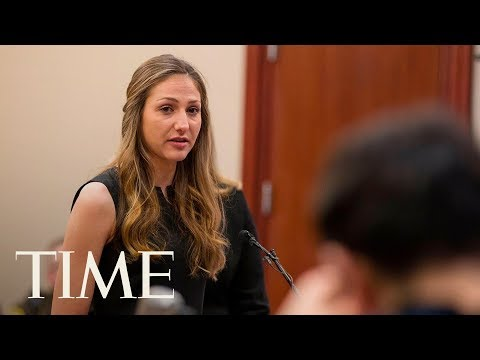 Xxx Mp4 Sexual Abuse Victims Confront Larry Nassar In Court Little Girls Don't Stay Little Forever TIME 3gp Sex
