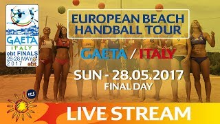 Livestream: European Beach Handball Tour - Finals | Gaeta / Italy | Final Day