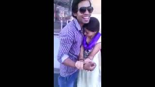 Girlfriend And Boyfriend Romance in Public ......Viral