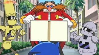 Sonic X Scenes: Eggman Takes a Runway Quiz
