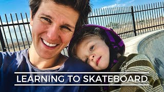 LUCY'S FIRST TIME AT THE SKATEPARK