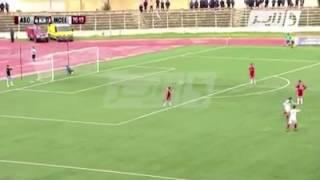 اغرب هدف في تاريخ الدوري الجزائري المحترف الثاني  من مباراة جمعية الشلف و مولودية العلمة