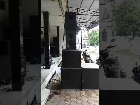 SOUND SYSTEM OUTDOR TEST MID SPEAKER ACR FABULOUS