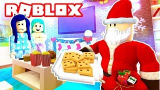 Roblox Family - IS ROBLOX SANTA REAL? WE TRY TO CATCH HIM!! (Roblox Roleplay)